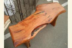 Unique Mesquite Bench